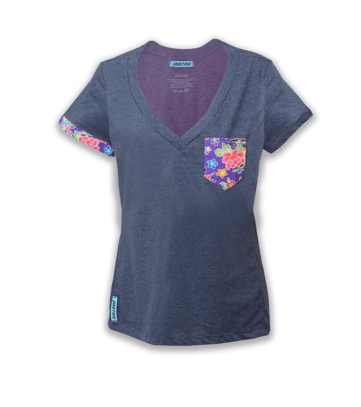 womens midnight blue v shirt jootoo